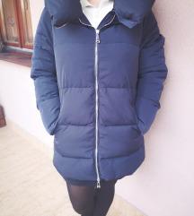 Kék Zara télikabát