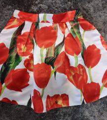 Tulipános szoknya