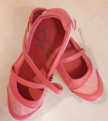 Új korallpiros balerina cipő 38