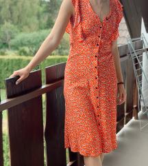 F&F virágos nyári midi ruha