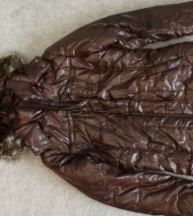 L-es barna női télikabát 4500 Ft