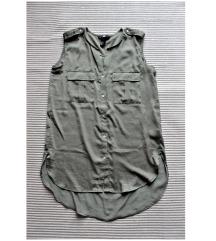 H&M laza oversize hosszított ujjatlan felső/ruha