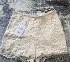 Zara csipkés rövidnadrág ÚJ