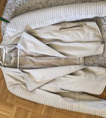 Nude műbőr kabát 34