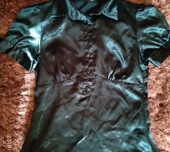 Philip Russel smaragzold blúz