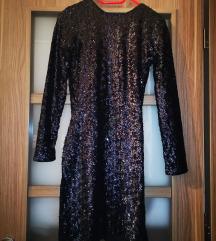 Flitteres fekete ruha