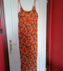 F&F narancssárga nyári ruha