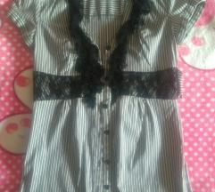 Tally Weijl hosszú szürke ing 36