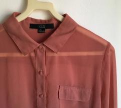 Áttetsző chiffon ing