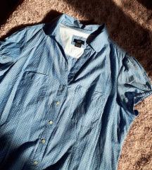 LEÁRAZVA F&f aranyos pöttyös rövidujjú ing
