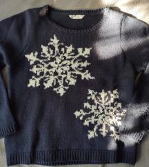 Hópehely mintás pulcsi