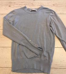 Zara kék pulcsi M