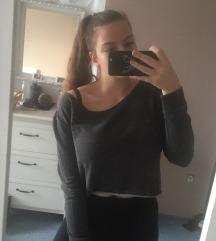 H&M fekete pulcsi