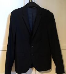 Zara sötétkék öltöny, zakó EUR 44
