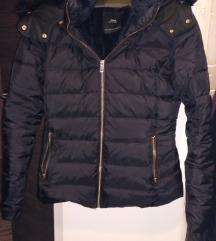 Zara fekete toll kabát S -es
