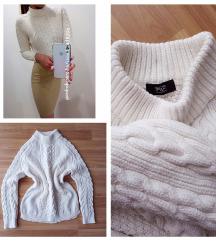 F&F vastag pulóver