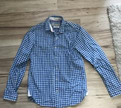 Kék fehér kockás használt ing