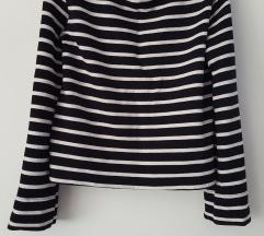 új h&m harangujjú póló/pulóver