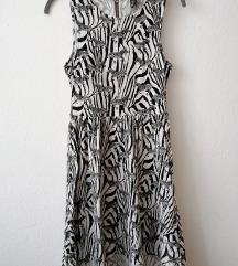 H&M zebramintás ruha