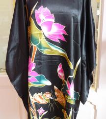 ÚJ Kimono jellegű selyem szatén tunika