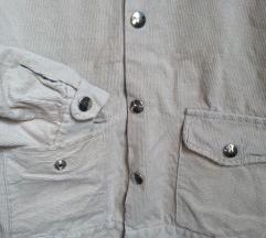 Kordbársony dzseki ing
