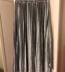 Gyönyörű ezüst szoknya - Reserved (XS) - 3500 Ft