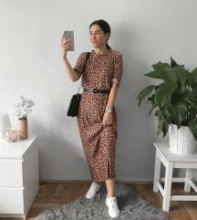 Zara párducmintás ruha