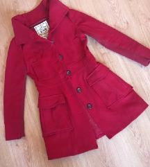 Mango piros S-es kabát