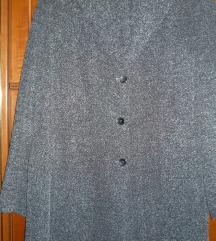 Szürke buklé kabátka 46-os új