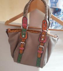 Színes kézi/oldal táska