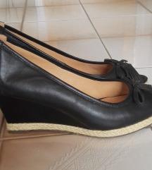 Magastalpú nyári cipő (eredeti bőr)
