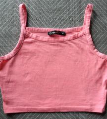 M, 38 - Rózsaszínű rövid crop top