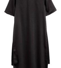 Új H&m szatén midiruha ruha