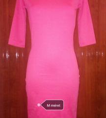 Új rózsaszín midi ruha