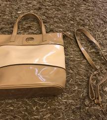 krémszinü táska