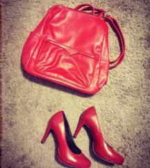 Új bordó táska