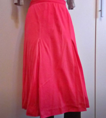 Luisa Spagnoli piros pamut szoknya