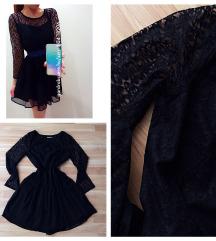 Fekete skater ruha