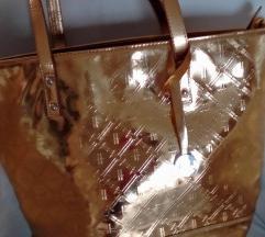 Harrods arany táska