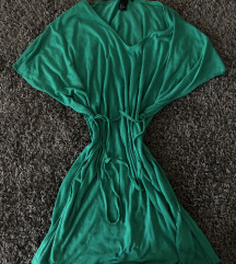 H&M zöld strand ruha elegáns nyári