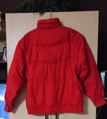 Férfi piros télikabát
