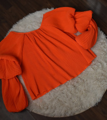 Blue Velvet narancs felső