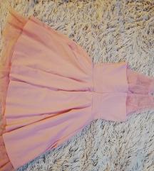 Alkalmi baba rózsaszín ruha