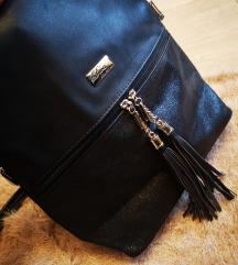 Fekete backpack
