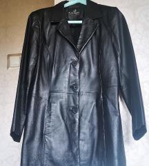 valódi bőr kabát női fekete