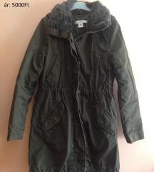 Khaki h&m kabát