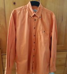 S méretű férfi ing camel active narancs színben :)