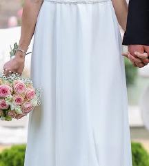 Menyasszonyi ruha ajándék boleróval, INGYEN posta!