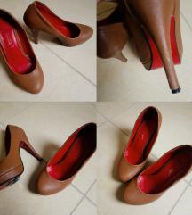 Barna platform cipő 38-as