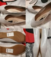 Új puha különleges fényű ezüstös balerina cipő